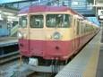 475系普通列車 国鉄色