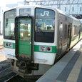 奥羽本線719系普通列車