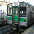 福島駅の701系