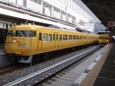 濃黄色117系