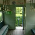 片鉄保存客車車両の内部
