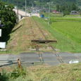 線路と盛り土 (片上鉄道)
